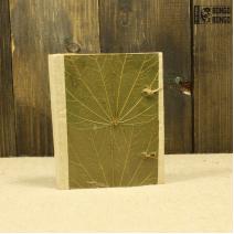 Блокнот малый из листьев