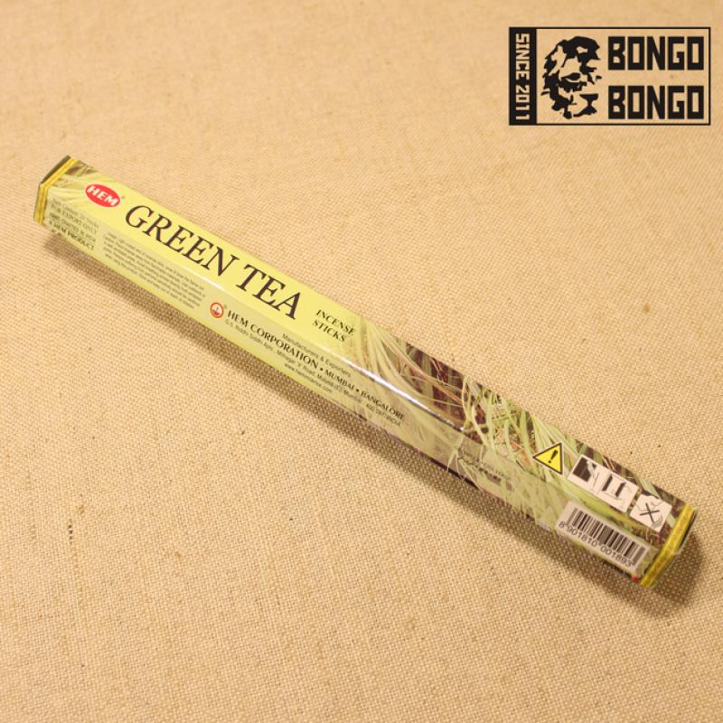 Благовония HEM   Зеленый чай (Green Tea)