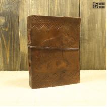 Блокнот ручной работы 150*120 | Обложка из кожи #1