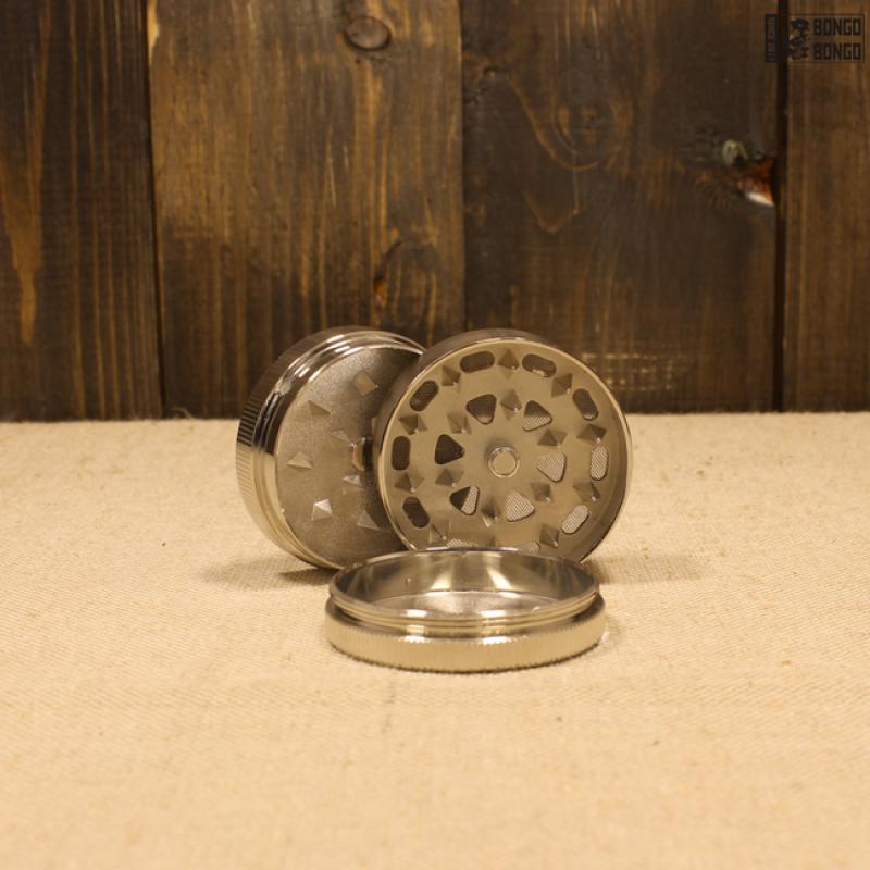 Гриндер металлический  «этно череп» | Диаметр 50мм