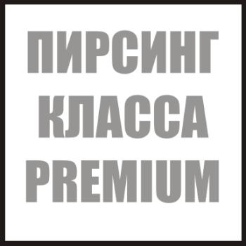 Украшения для пирсинга класса PREMIUM