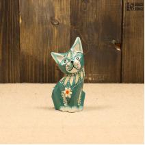 Кошка зеленая (10см)