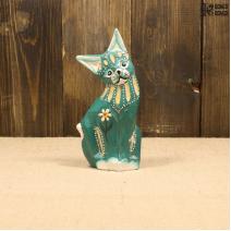 Кошка зеленая (15см)