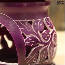 Аромалампа | Камень | Фиолетовая