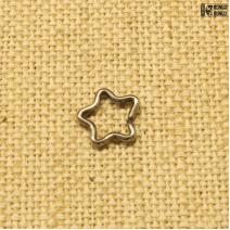 Кольцо Звезда титан (1.2ММ * 8ММ) | цена за 1шт.