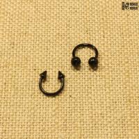Циркуляр черный (1.2мм * 8мм)  |  Конусы | Шарики | Кастом | 1шт.