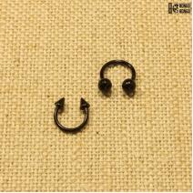 Циркуляр черный (1.2мм * 8мм)  |  Конусы | Шарики | Кастом | цена за 1 шт.