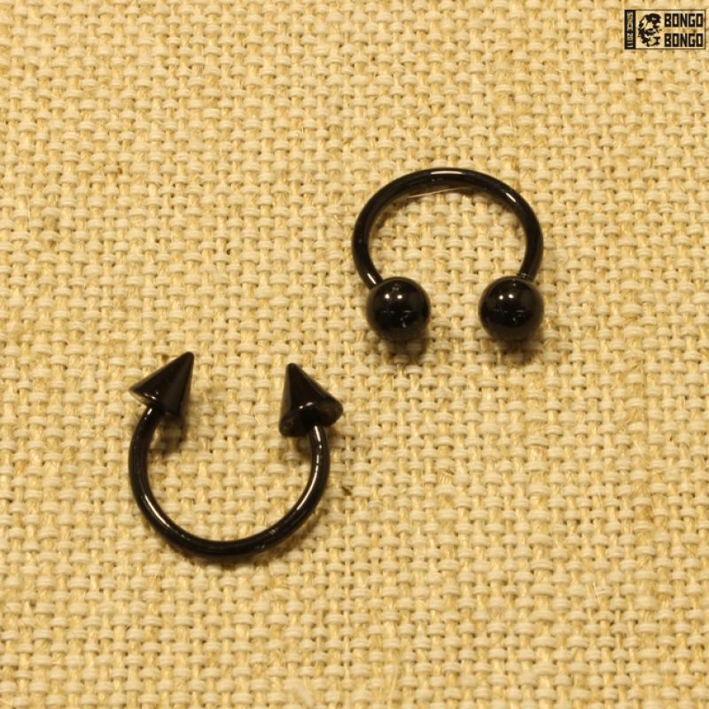 Циркуляр черный (1.4мм * 12мм)  |  Конусы | Шарики | Кастом | 1шт.