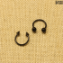 Циркуляр черный (1.2мм * 10мм)  |  Конусы | Шарики | Кастом | 1шт.