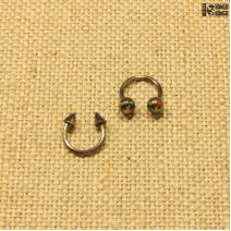 Циркуляр радужный  (1.2мм * 8мм)  |  Конусы | Шарики | Кастом | цена за 1 шт.