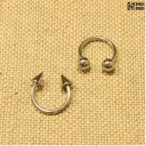 Циркуляр светлый (1.4мм * 12мм)  |  Конусы | Шарики | Кастом | цена за 1 шт.