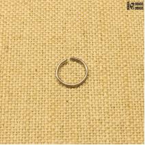 Кольцо в нос закрытое титан 1мм*10мм | цена за 1шт.