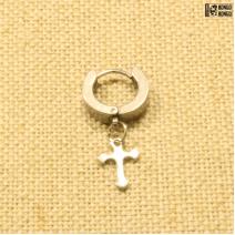 Кликер светлый с крестом #2 | цена за 1шт.