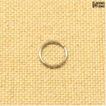 Кольцо в нос закрытое 1мм*10мм | цена за 1шт.