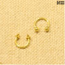 Циркуляр золотистый  (1.2мм * 10мм)  |  Конусы | Шарики | Кастом | цена за 1 шт.