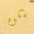 Циркуляр золотистый  (1.2мм * 10мм)  |  Конусы | Шарики | Кастом | 1шт.