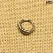 Кольцо с пружиной (1.2мм*8мм) | цена за 1шт.