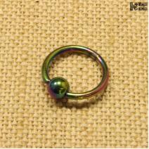 Кольцо радужное (1.4мм*12мм) | цена за 1шт.