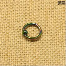 Кольцо радужное (1.2мм * 8мм) | цена за 1шт.