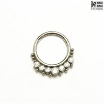 Кольцо-кликер Gino B/W Implant Grade титан (1.2мм * 10мм) | цена за 1шт.