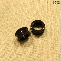 Тоннели силиконовые чёрные  18мм | цена за 1шт.