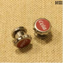 Плаги из стали («Cola»)  8мм | цена за 1шт.