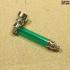 Трубка  «металл и акрил» зеленая
