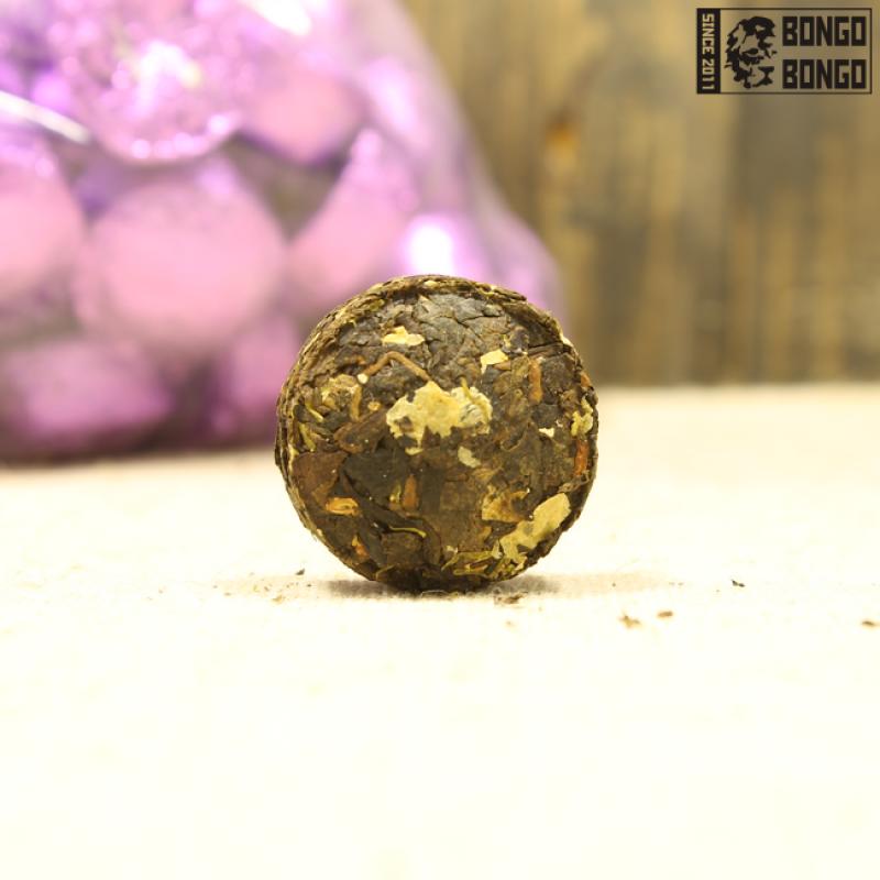 Шу пуэр с жасмином «Маленькие золотые куколки»   1 шт. (6-7гр)