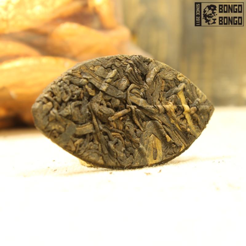 Шу пуэр «Золотой Лист старого дерева» | 1 шт. (7-8гр)
