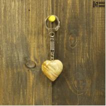Брелок «Сердце» из оникса