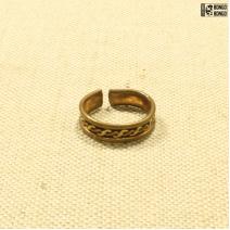 Кольцо медное Индия #1