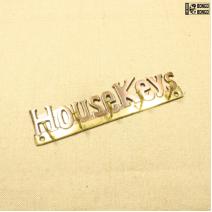 Ключница «House Keys» из латуни
