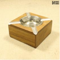 Пепельница деревянная «квадрат»