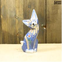 Кошка синяя (15см)